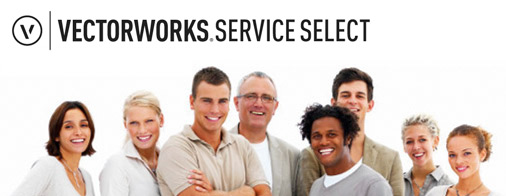 Vectorworks Service Select